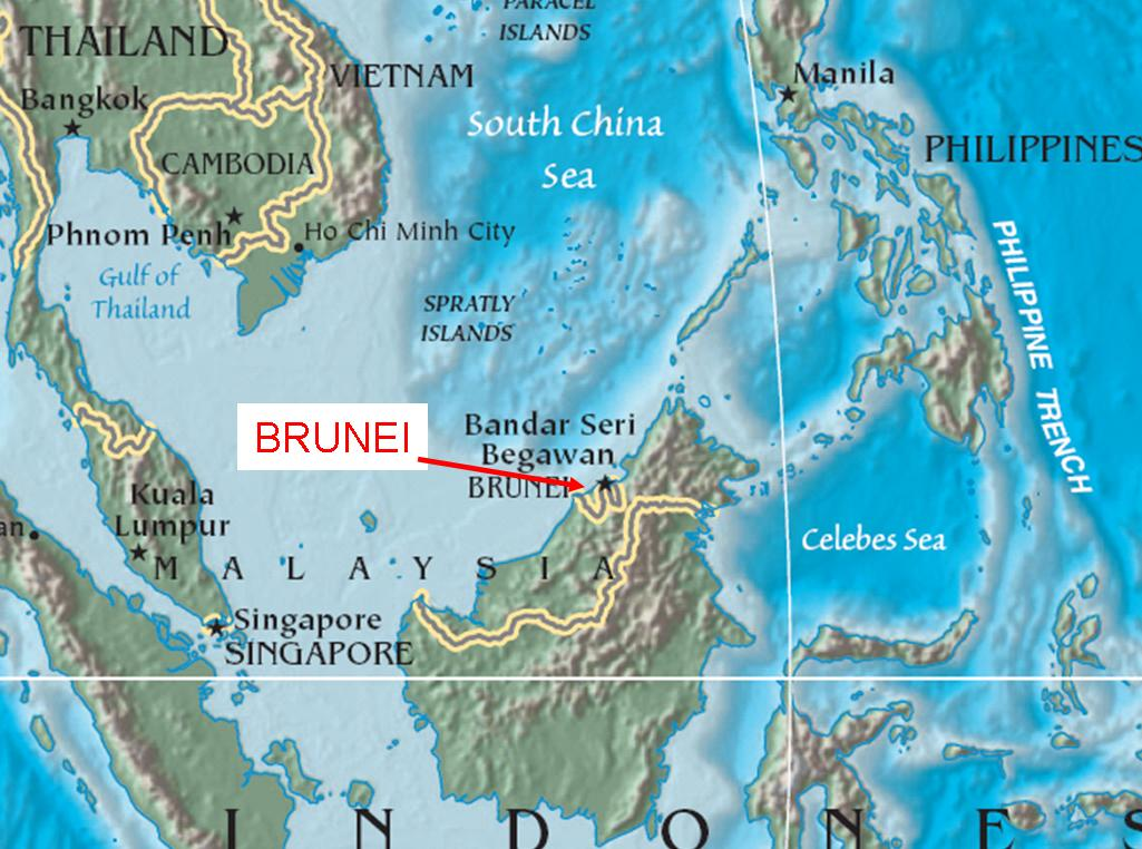 Brunei - LIFE IS GOOD BECAUSE GOD IS GREAT